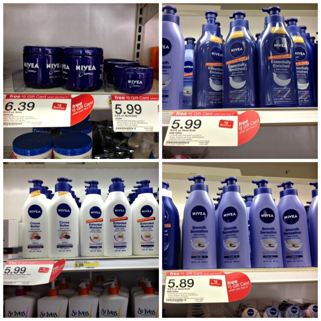 Nivea Lotion Or Creme As Low As $0.29 At Target! - DEAL MAMA
