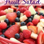 red white & blue fruit salad recipe