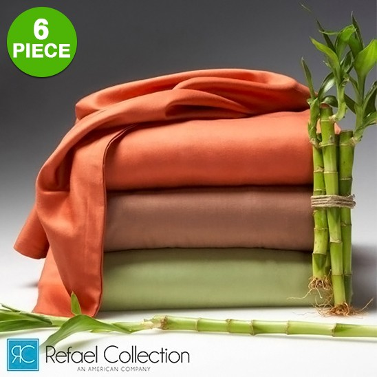 6 Piece Set Hotel Lexington 2200 Series Rayon From Bamboo