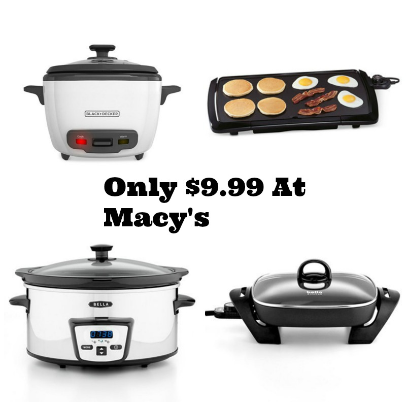 Macy S Small Appliances Cookware For As Low As Deal Mama