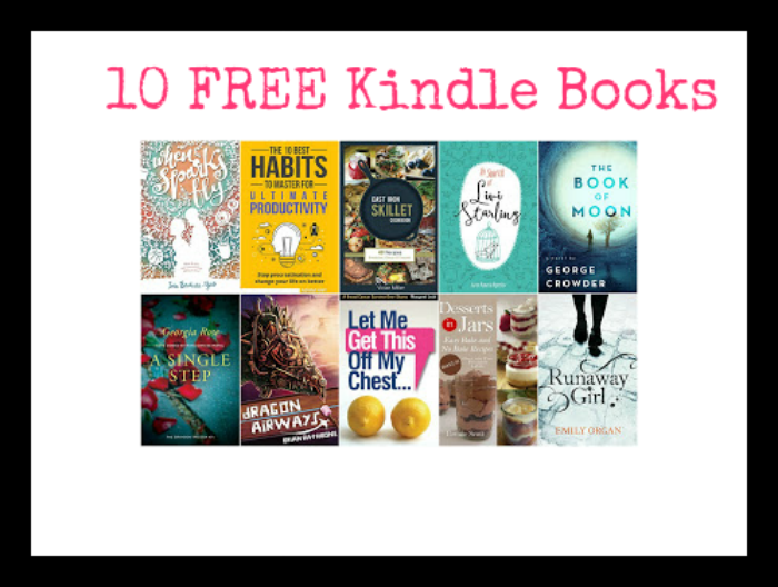 10 FREE Kindle Books 4/12 - DEAL MAMA