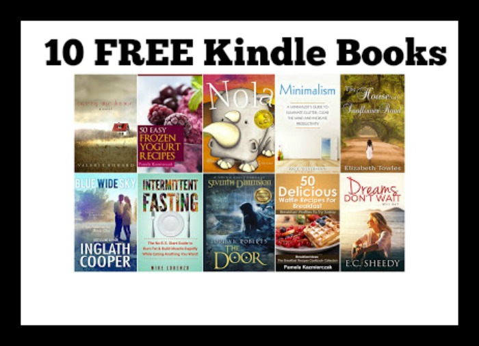 10 FREE Kindle Books 4/17 - DEAL MAMA