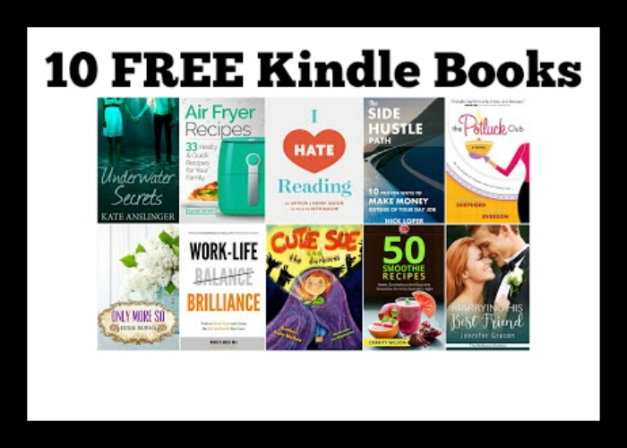 10 FREE Kindle Books 4/19 - DEAL MAMA