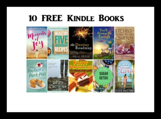 10 free kindle books 5 22   deal mama