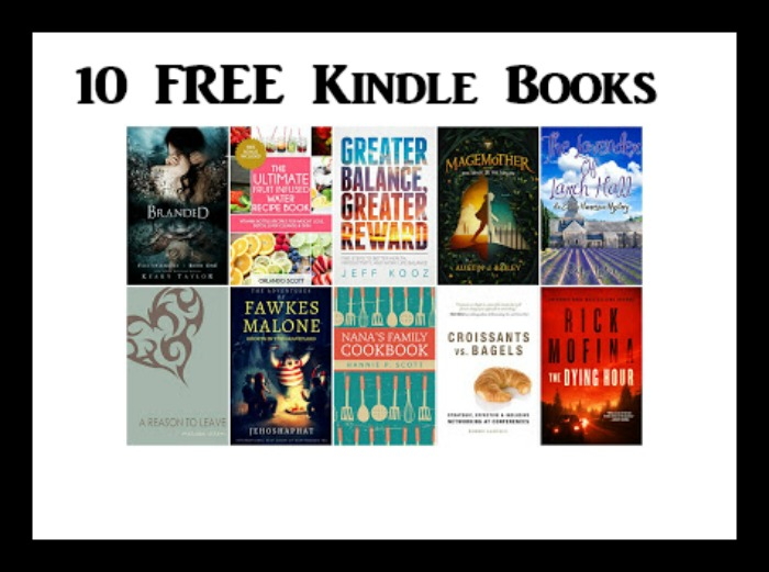 10 free kindle books 7 31   deal mama