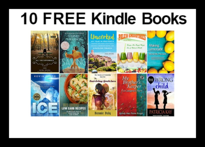 10 FREE Kindle Books 7/5 - DEAL MAMA