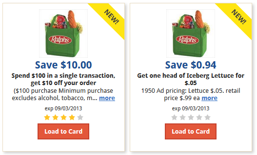 photograph relating to Ralphs Printable Coupons named Ralphs Coupon codes: $10 OFF $100 Obtain + Lettuce For $0.05!
