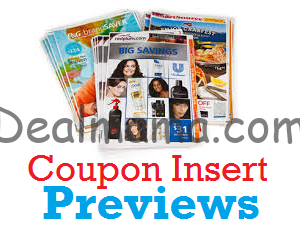 Sunday Coupon Preview 9/20 – 3/ Inserts!!