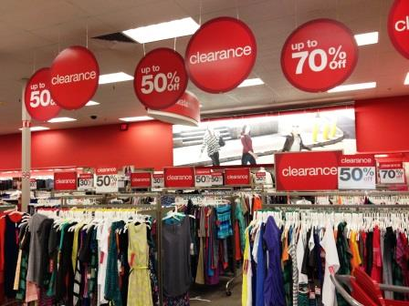 Post-Holiday Sales at Target!