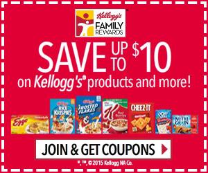 Kellogg's Family Rewards – 100 Point Code