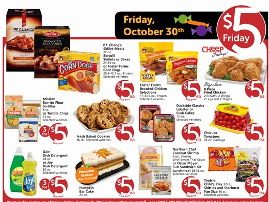 vons 5 friday deals 3 day sale 10 30 11 1 deal mama
