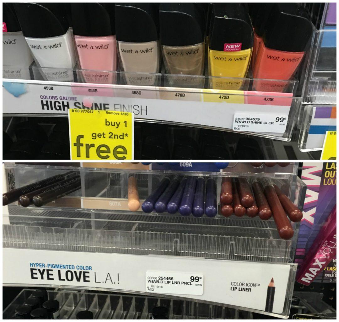 FREE Wet n Wild Cosmetics at CVS - DEAL MAMA