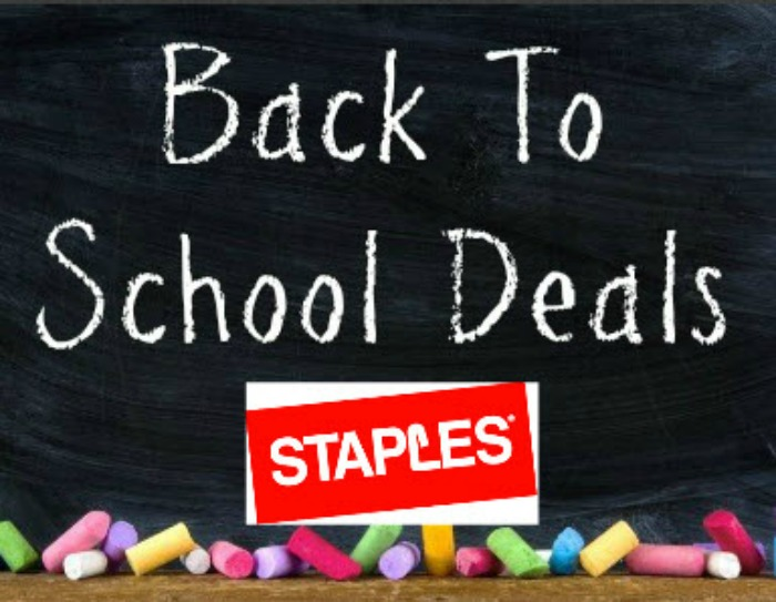Back to School Deals at Staples starting at 0.15 each!
