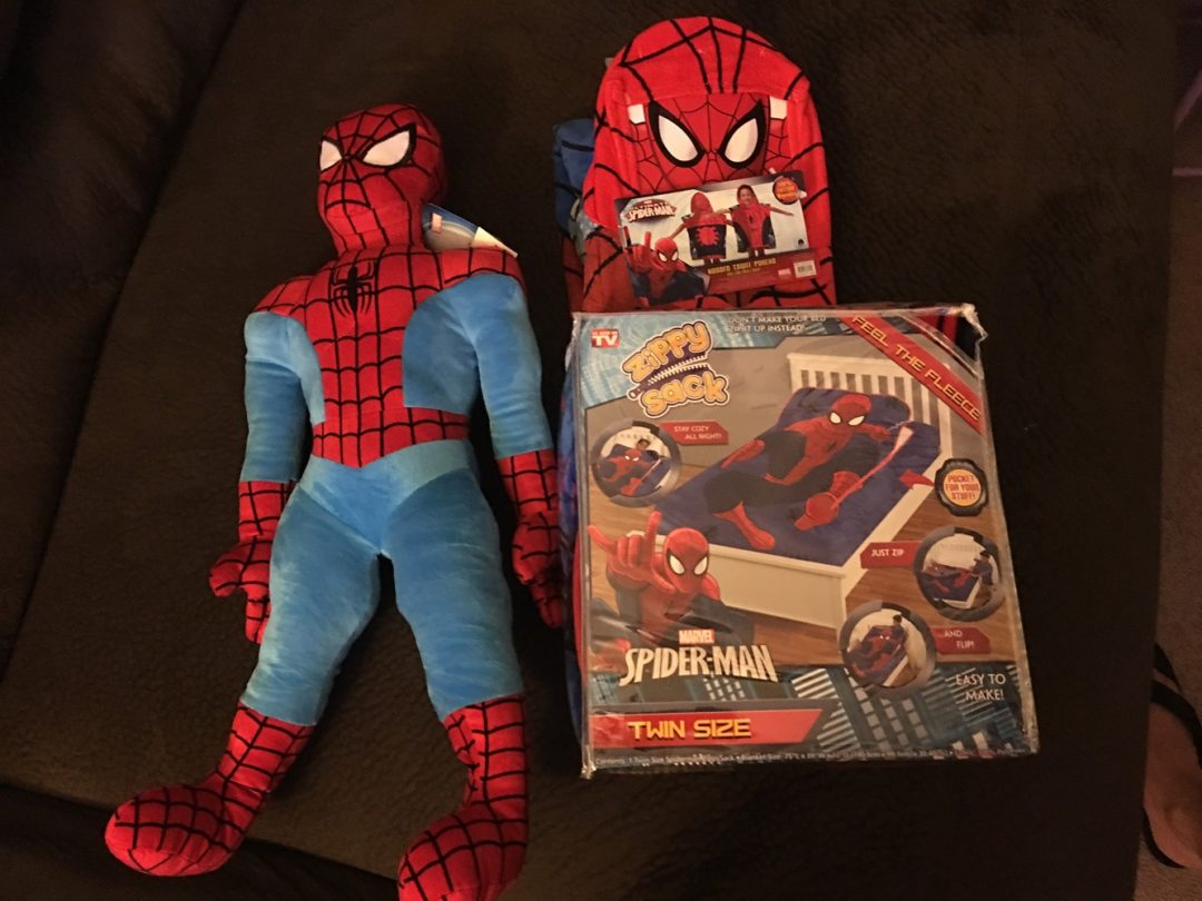 Spider-Man ZippySack & More Spider-Man Fun & Giveaway!!