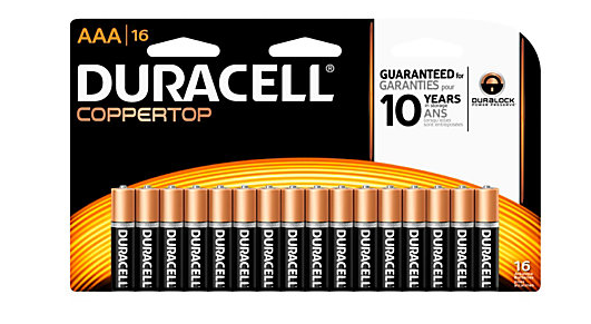 FREE Duracell Batteries At Office Depot
