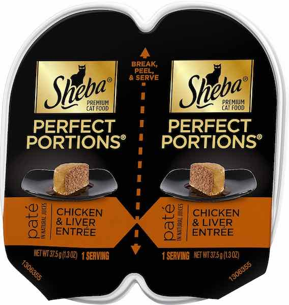 Sheba Perfect Portions only 0.36 each at Walmart!
