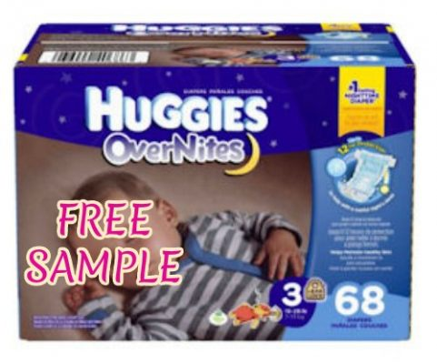 huggies nappies free sample