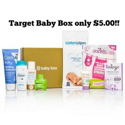 Target Baby Box Only 5 00