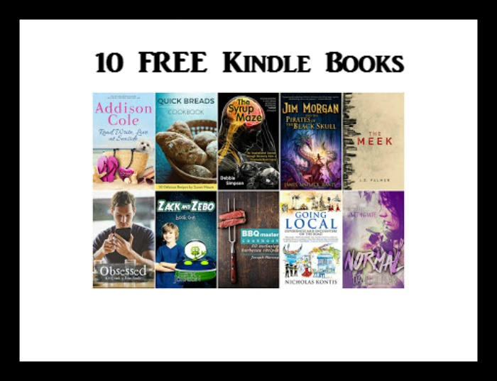 10 FREE Kindle Books 5/23 - DEAL MAMA