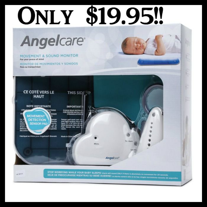 Angelcare Movement Amp Sound Baby Monitor Set Only 19 95
