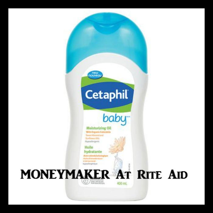 Rite Aid Huge Moneymaker On Cetaphil Baby Moisturizing Oil