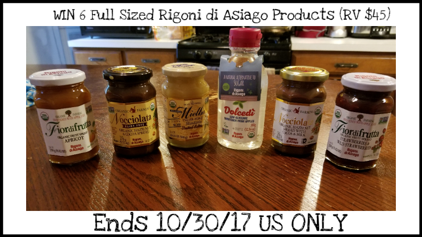 Rigoni di Asiago: Italian Organic Jams, Honeys, & Chocolate Spreads Review & A Giveaway!