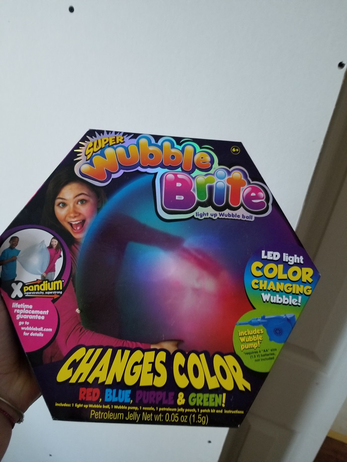 Review: Super fun with Super Wubble Brite