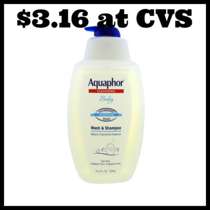cvs - aquaphor baby wash  u0026 shampoo only  3 16