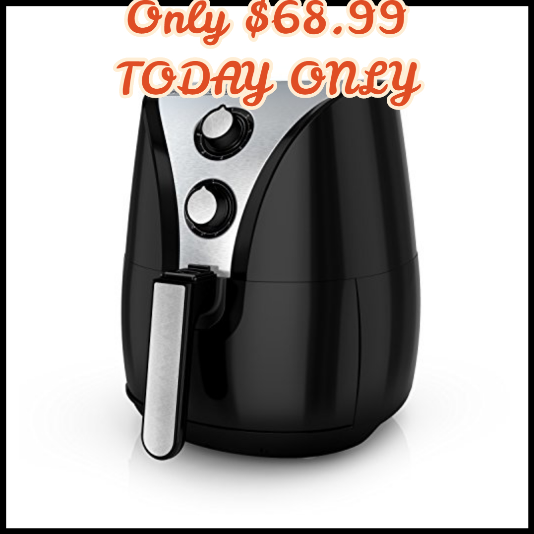 Today Only Black Decker Purifry Oil Free Air Fryer 2