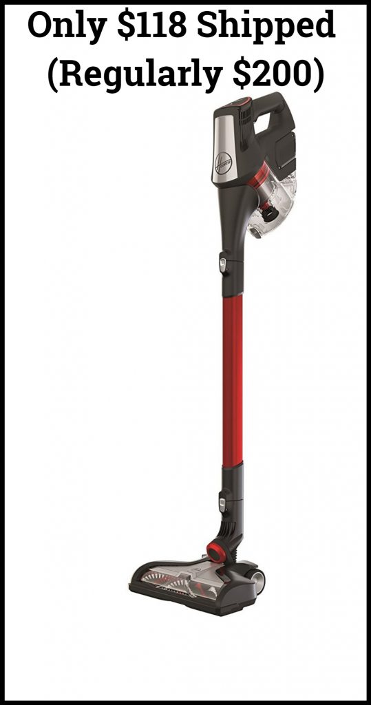 Hoover Fusion Max Cordless Stick Vacuum Cleaner Only 118