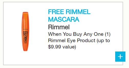 Rimmel coupon