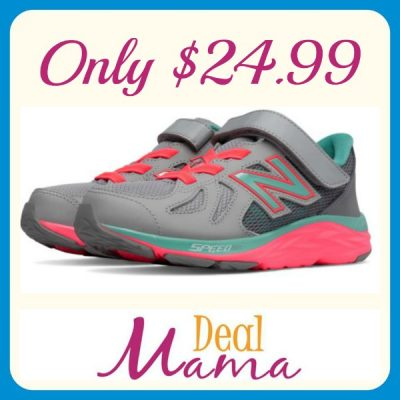 Today Only! New Balance Girls Shoes Only  25.99 Shipped (Regularly ... 1724c4bf86d47