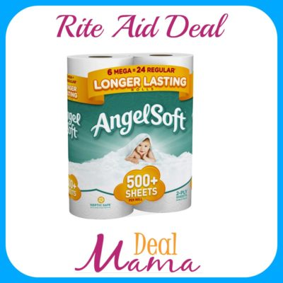 Rite Aid Angel Soft Bath Tissue Mega Roll Deal