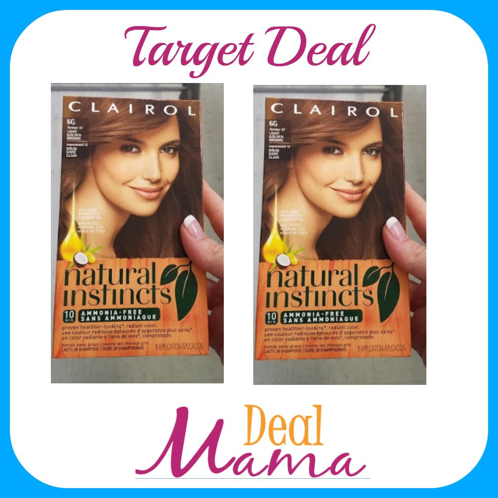 Target Clairol Hair Color Only 299 Each Deal Mama
