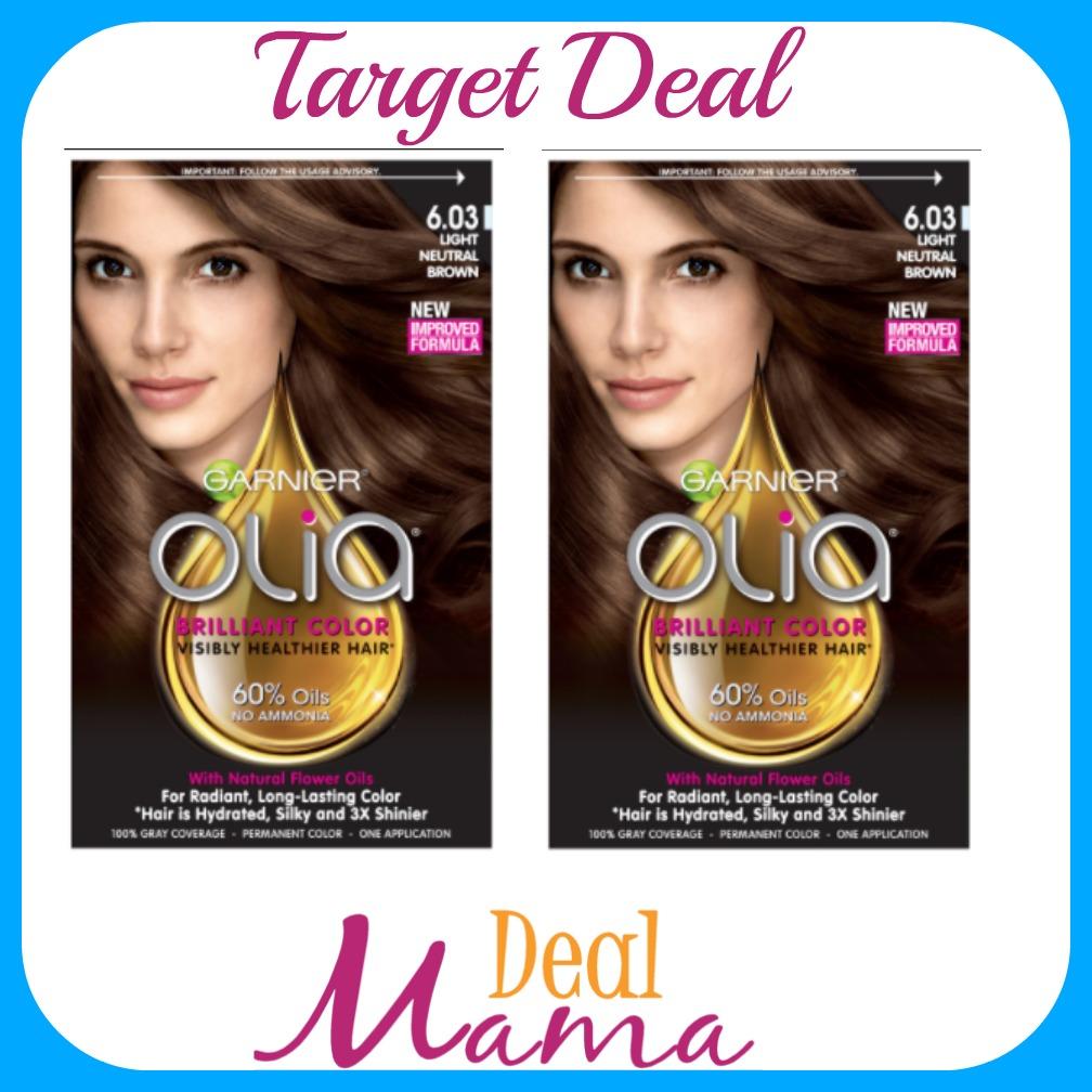 Target Garnier Olia Hair Color Free Deal Mama