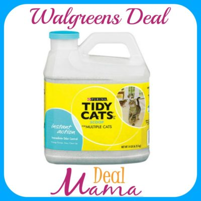 Walgreens Tidy Cats Cat Litter Only 3 75 Starting 2 18