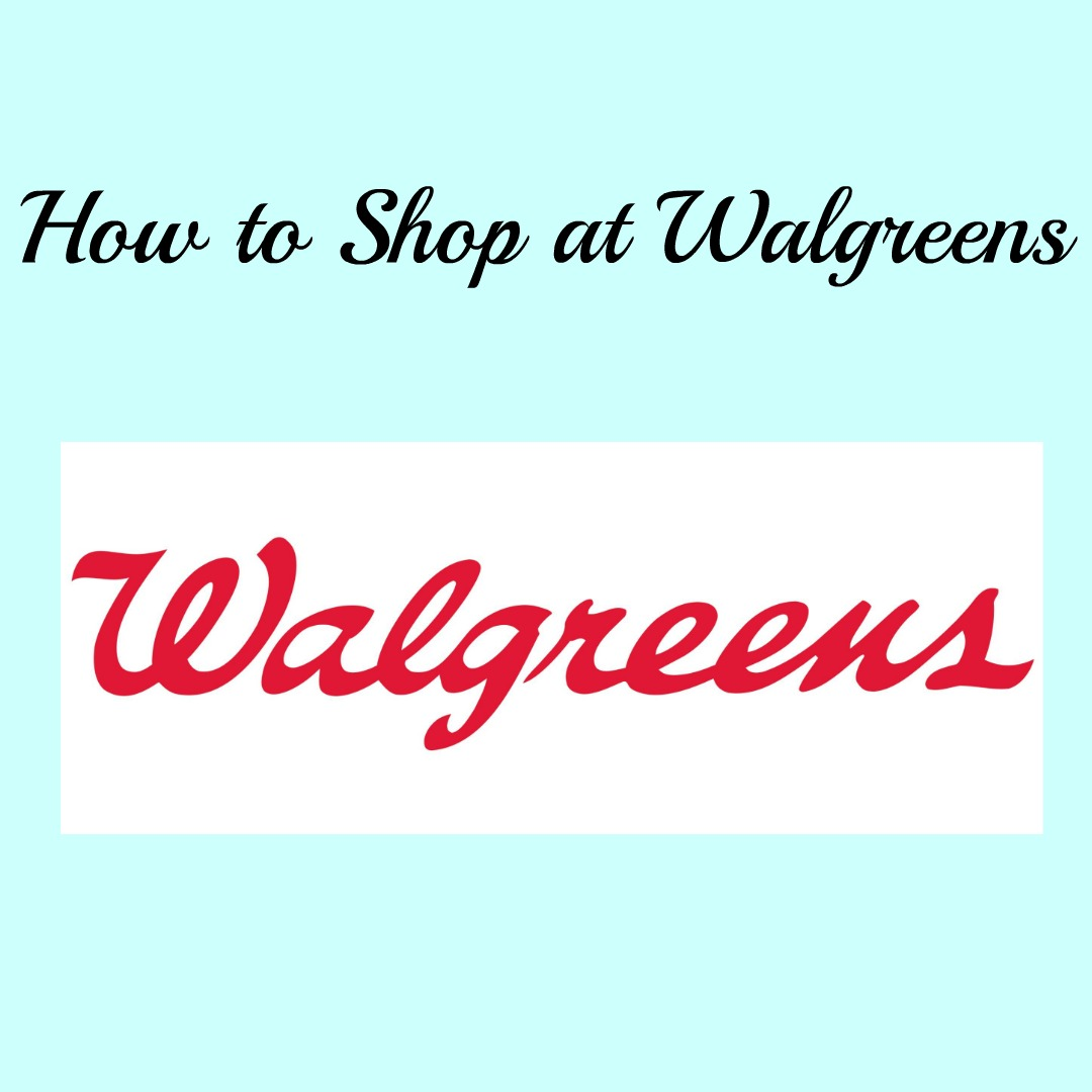 Shopping at Walgreens with Video!!
