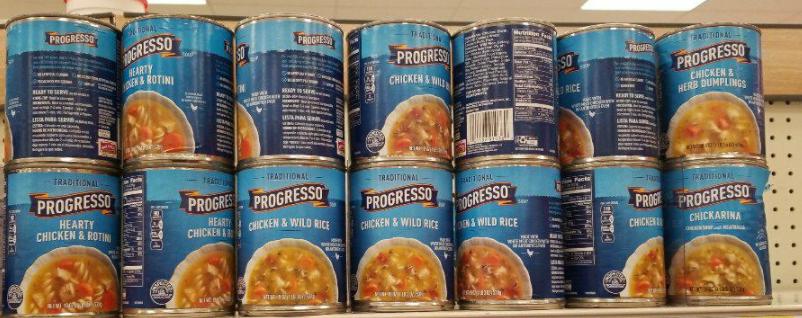 Progresso Soups only 0.99 each at Kroger!