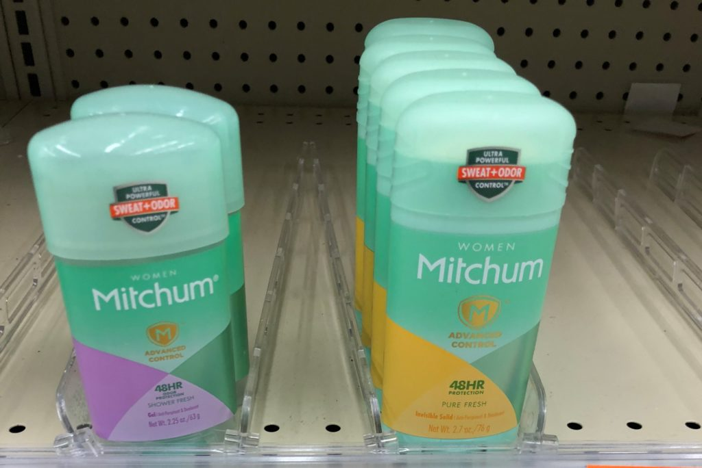 picture regarding Mitchum Printable Coupon named Mitchum Deodorant simply just $0.37! - Package MAMA