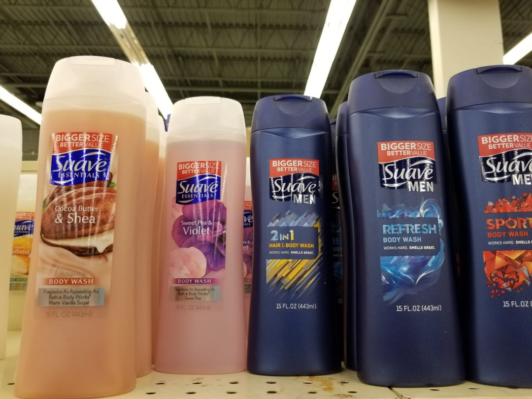 Suave Men's 2-in-1Hair and Body only 0.50 at Dollar General!
