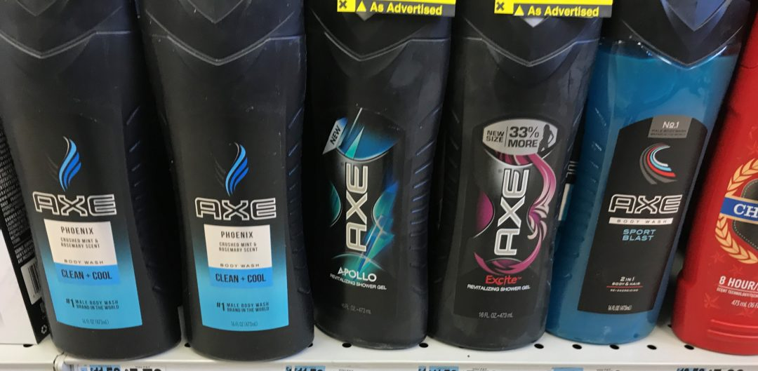 Axe Body Wash only 1.00 at Dollar General!