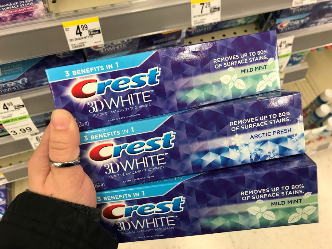 Crest Arctic Fresh Toothpaste just .66 at Walgreens
