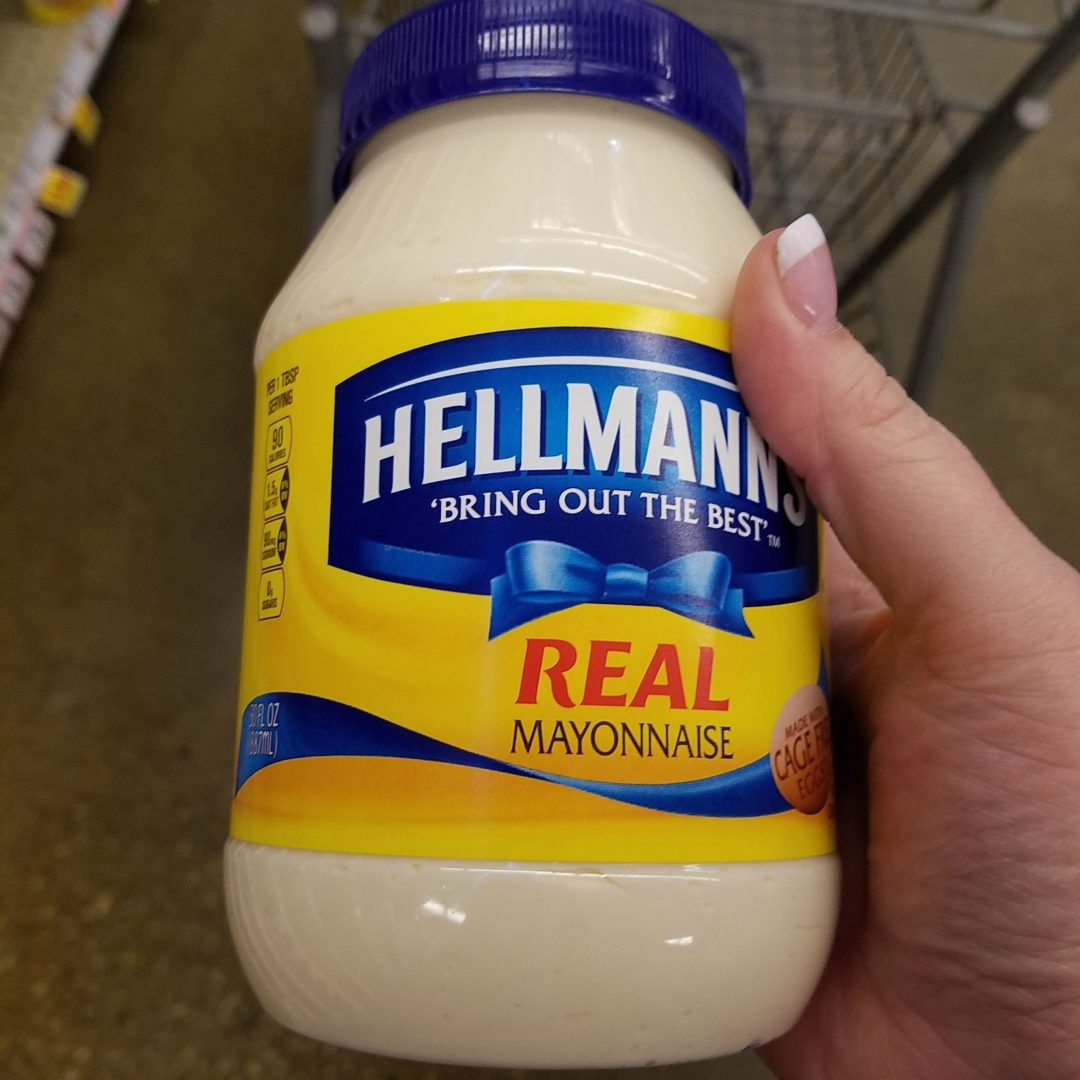 Hellmann's Real Mayonnaise only 1.25 at Target