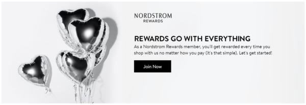 For a limited time, when you sign up for the free Nordstrom Rewards Card, you will score a $60 off $100 coupon! Sign up now to grab your Nordstrom coupon!