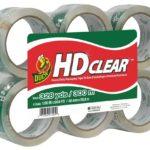 Duck HD Clear Heavy Duty Packaging Tape Refill