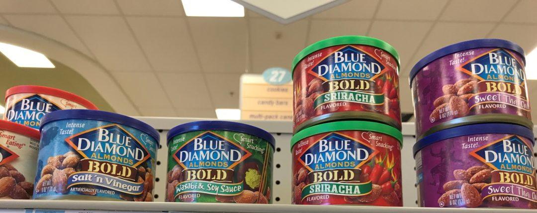 Blue Diamond Almonds onlt 1.99 at Target!