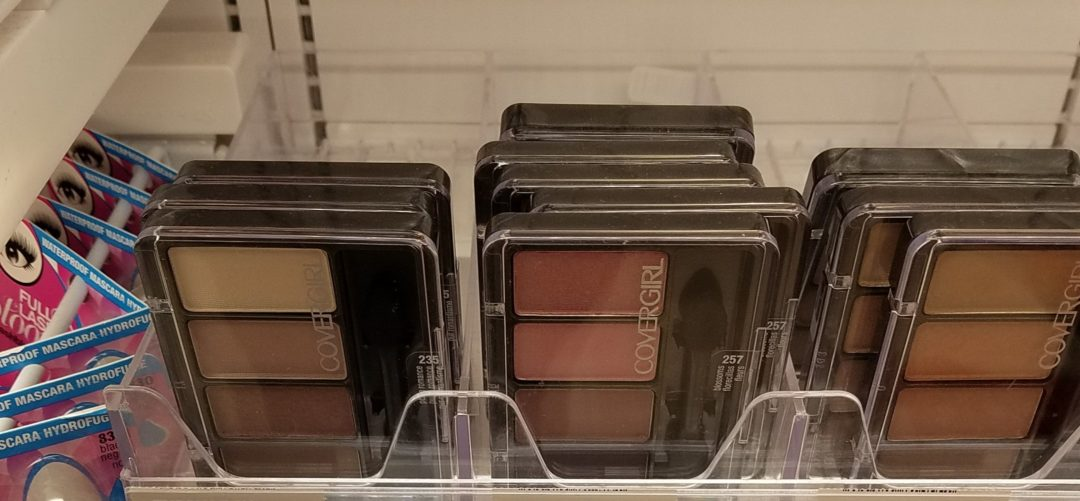 CoverGirl 3-Pan Eye Shadows Only 0.24 at Rite Aid