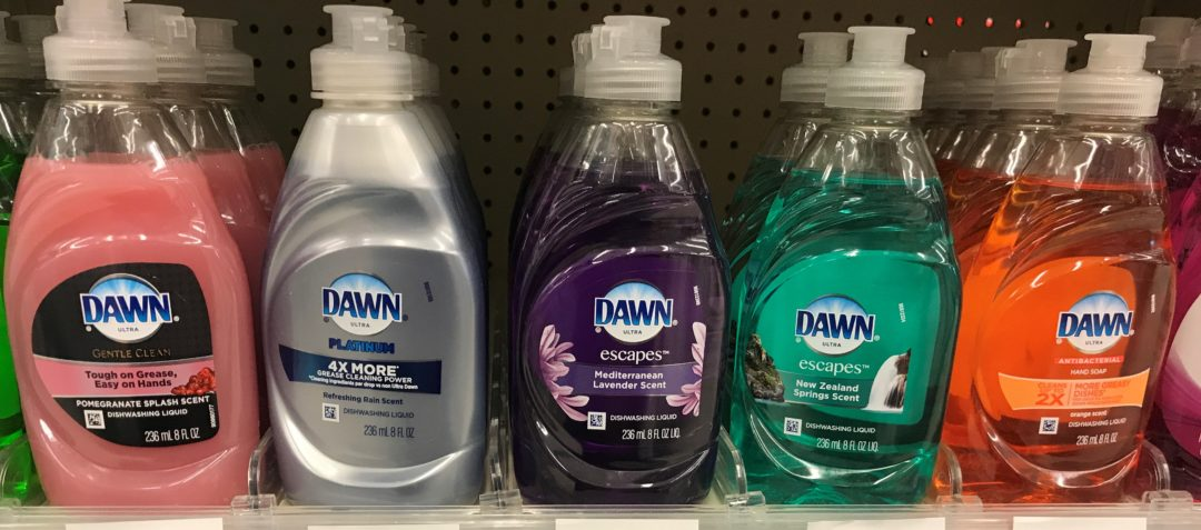 Dawn Dish Liquid only 0.74 at Dollar General
