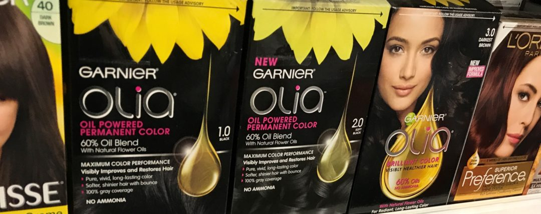 Garnier Nutrisse or Olia Hair Color Only 3.99 at Rite Aid