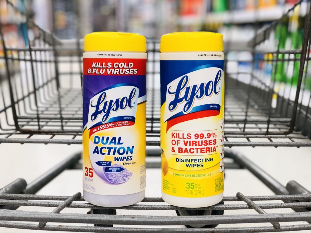 Lysol Products As Low As 1.04